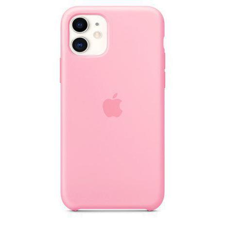 Capa Colorida de Silicone Compatível com iPhone 11