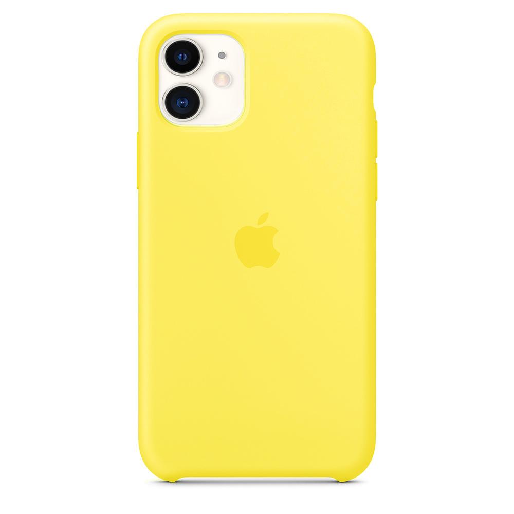 Capa Colorida de Silicone Compatível com iPhone 12/12 Pro