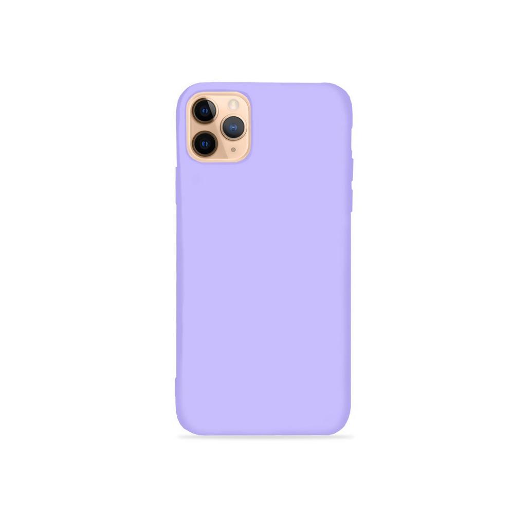 Capa Colorida de Silicone Compatível com iPhone 12 Pro Max