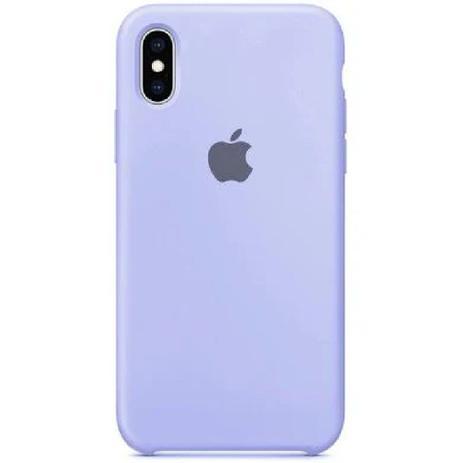 Capa Colorida de Silicone Compatível com iPhone X/XS