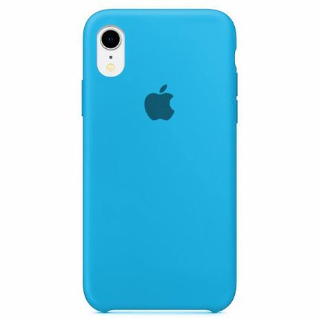 Capa Colorida de Silicone Compatível com iPhone XR