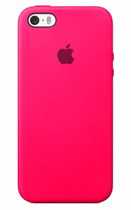 Capa Colorida de Silicone Compatível com iPhone SE/5/5S
