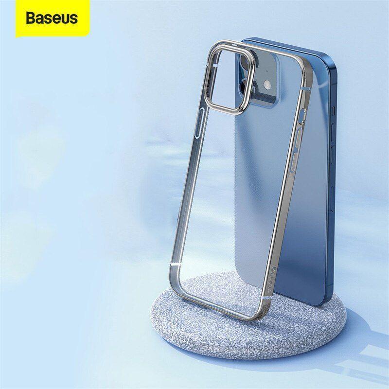 Capa Glitter Phone Prata Compatível com iPhone 12 Pro Max