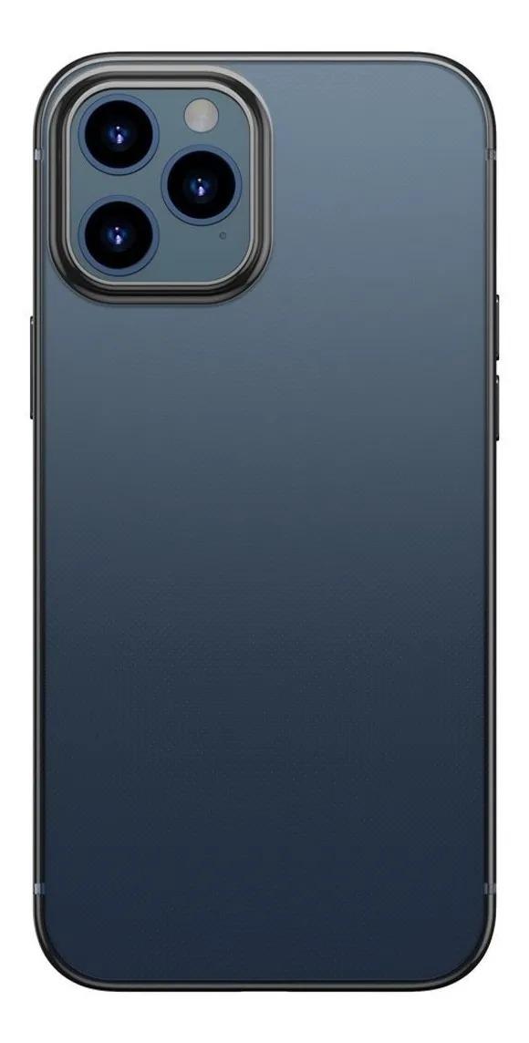 Capa Glitter Phone Preto Compatível com iPhone 12/12 Pro