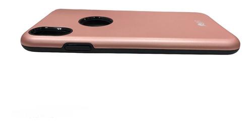 Capa Lift Dual Armor Rose Compatível com iPhone X/XS