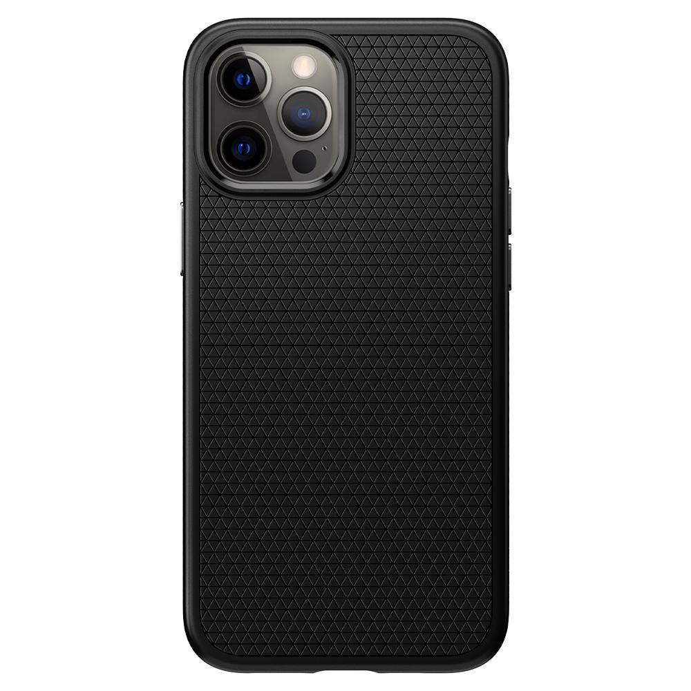 Capa Liquid Air Matte Black Compatível com Iphone 11 Pro Max