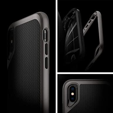 Capa Neo Hybrid Gunmetal Compatível com iPhone X/XS