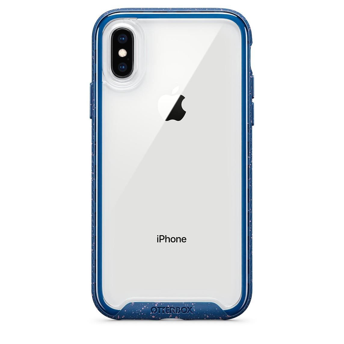 Capa OtterBox Mod Traction Para iPhone X/XS Azul Marinho
