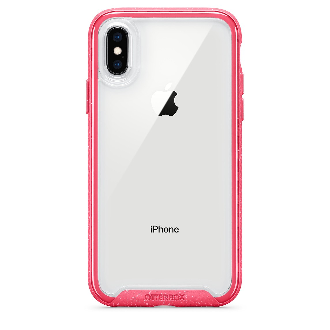Capa OtterBox Mod Traction Rosa Compatível com iPhone X/XS