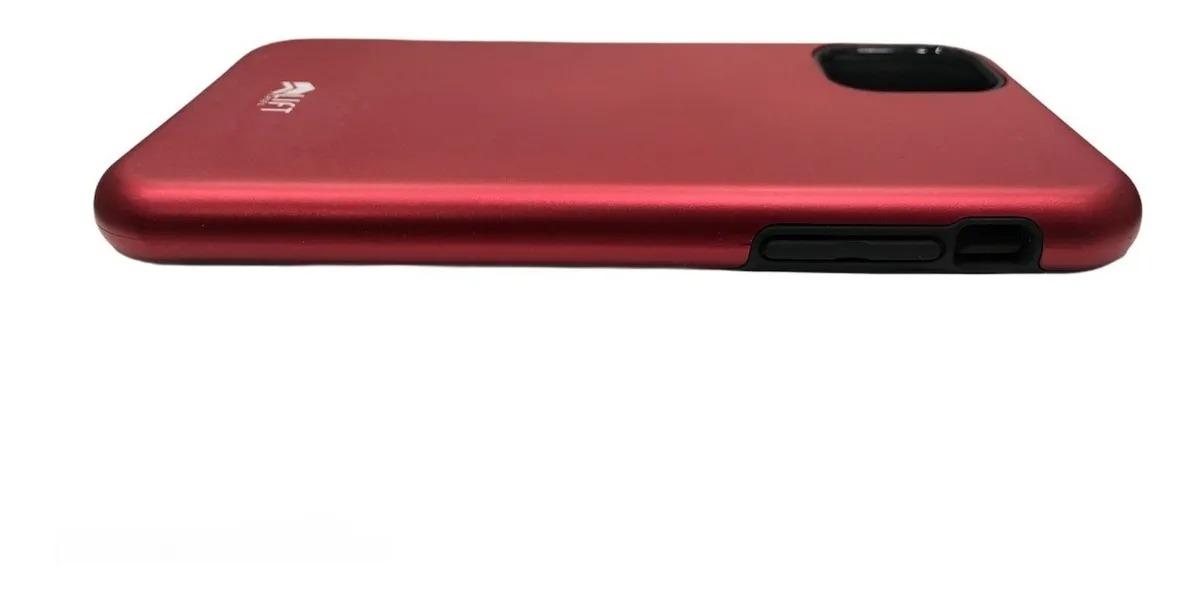 Capa Lift Dual Armor Vermelha Compatível com iPhone 11 Pro