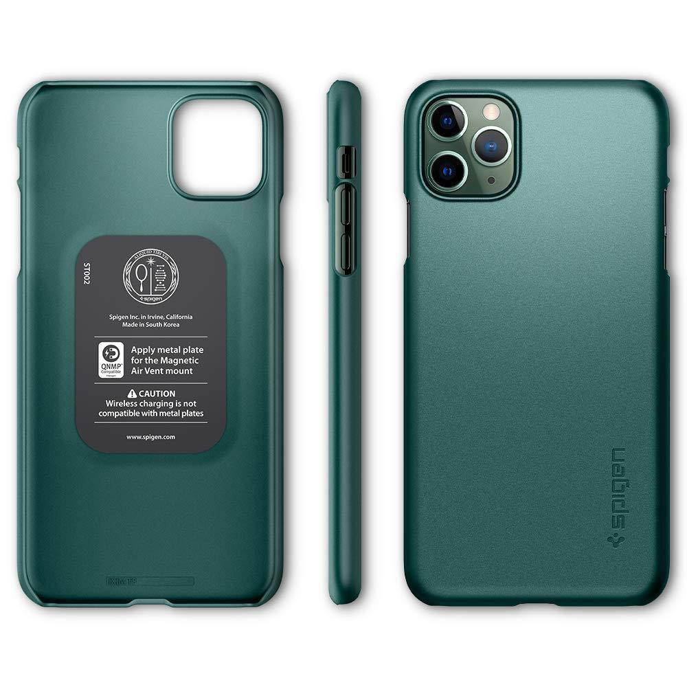 Capa Thin Fit Midnight Green Compatível com iPhone 11 Pro Max