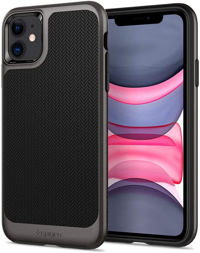 Capa Para iPhone 11 Pro Neo Hybrid Gunmetal Spigen