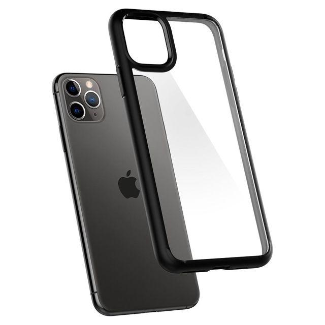 Capa Spigen Ultra Hybrid Matte Black Compatível com iPhone 11 Pro