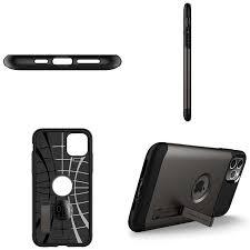 Capa Slim Armor Gunmetal Spigen Compatível com iPhone 11