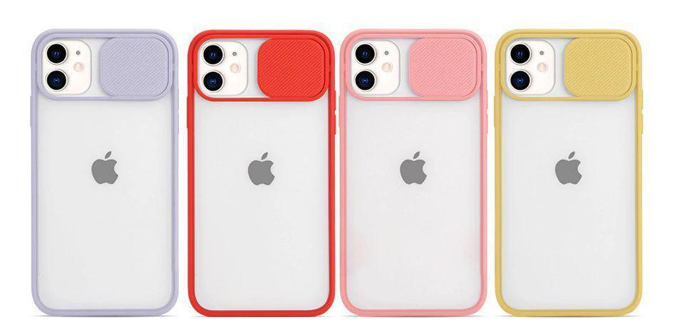 Capa Com Proteção Para Câmera Amarela Compatível com  iPhone 12 Mini