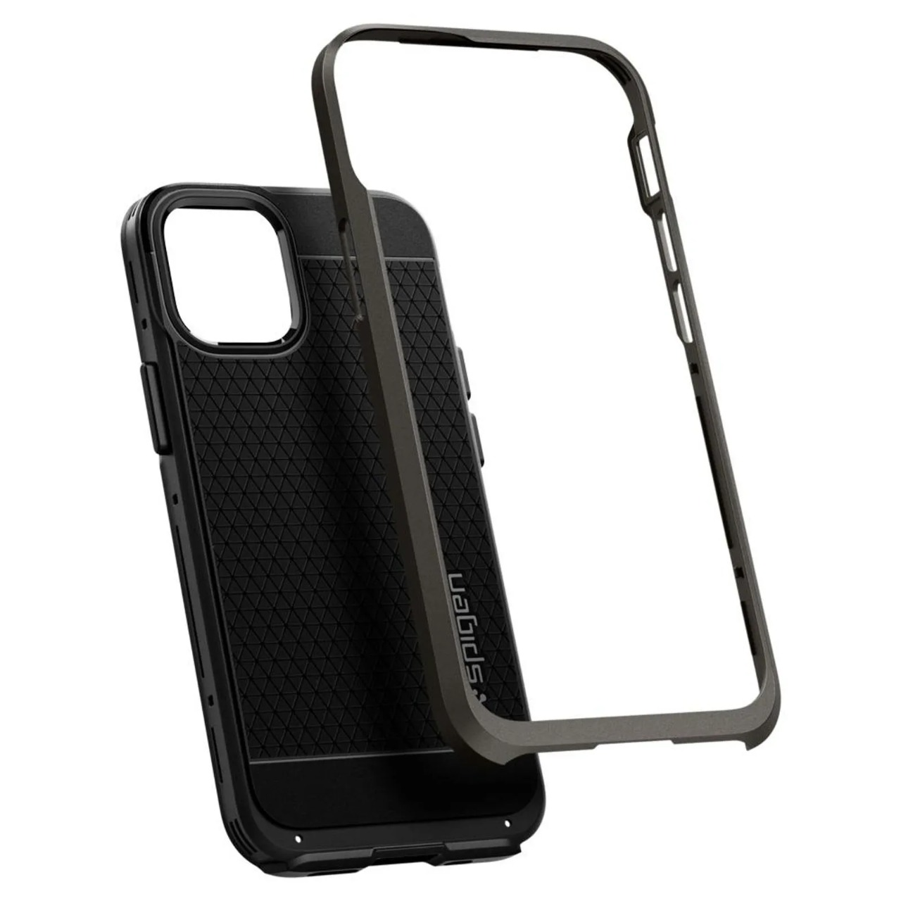 Capa Para iPhone 12 Mini Neo Hybrid Gunmetal