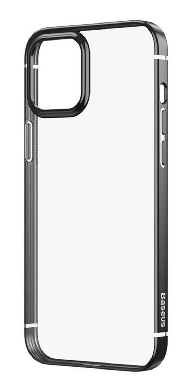 Capa Glitter Phone Preta Compatível com iPhone 12 Pro Max