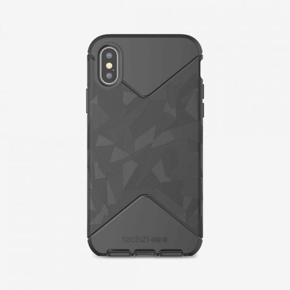 Capa Tech21 Evo Tactical Preta Compatível com iPhone X