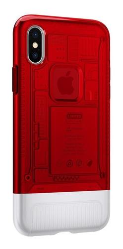 Capa Classic C1 Spigen Ruby Compatível com iPhone X/XS
