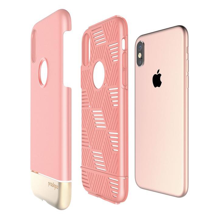 Capa para iPhone X/XS Prodigee Fit Pro Rose Gold
