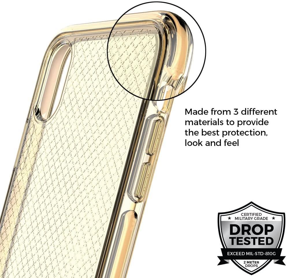 Capa Prodigee Safatee Gold Compatível com iPhone X/XS