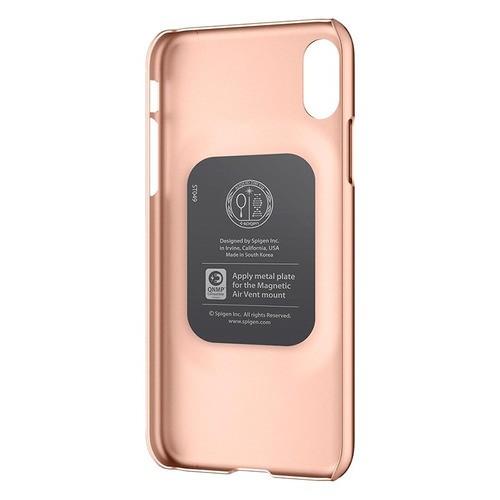 Capa Para iPhone X/XS Thin Fit Spigen Blush Gold
