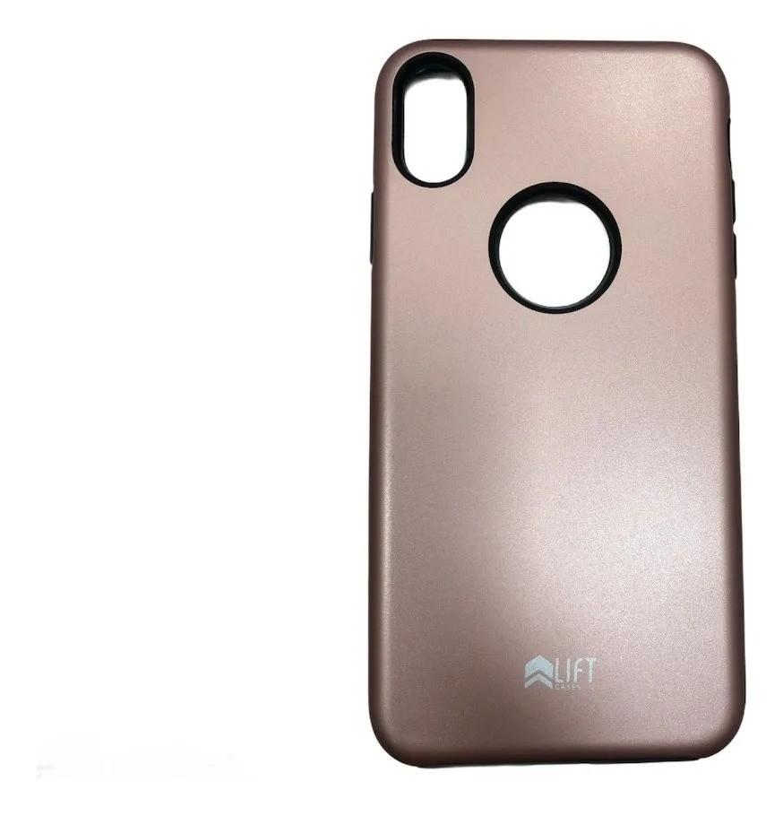 Capa Lift Dual Armor Rose Compatível com iPhone XS Max
