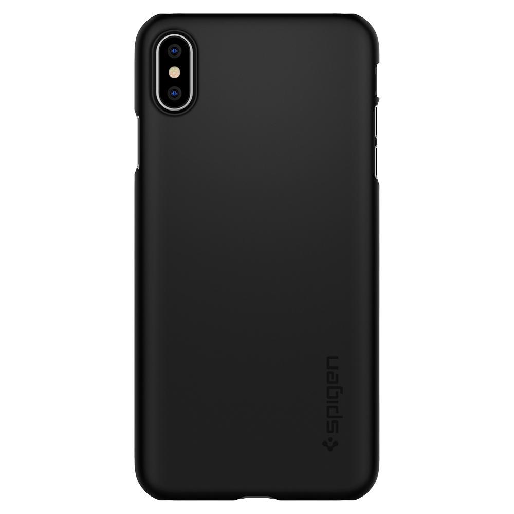 Capa Thin Fit Black Compatível com iPhone XS Max