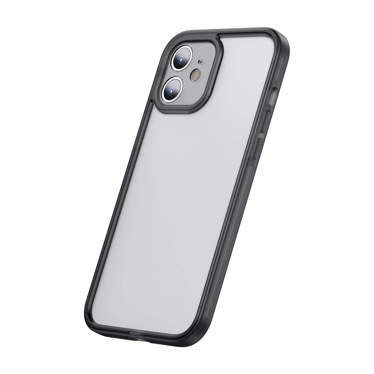Capa Protetora de Lente de Câmera com Moldura Compatível com iPhone 12 Pro Max