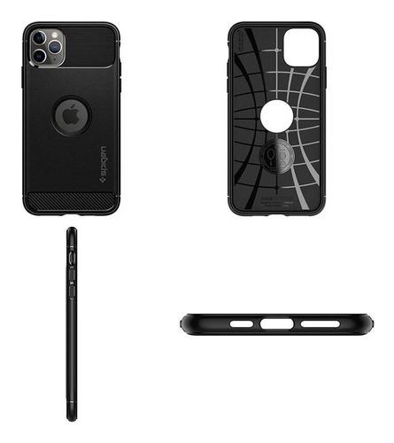 Capa Rugged Armor Matte Black Compatível com iPhone 11 Pro