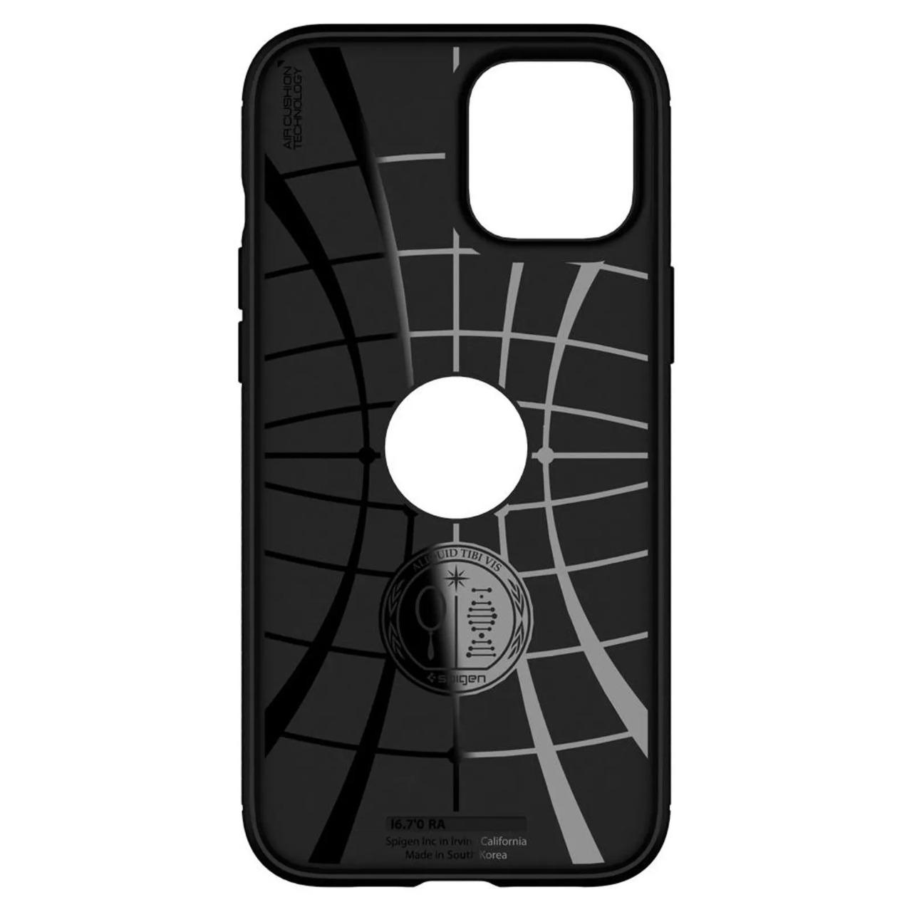Capa Rugged Armor Matte Black Compatível com iPhone 12/12 Pro