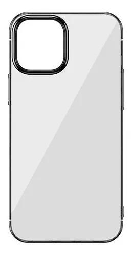 Capa Shining Anti-Fall Preto Compatível com iPhone 12 Mini