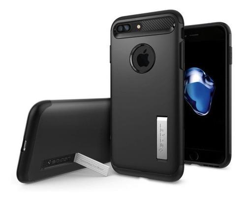Capa Slim Armor Black Compatível com iPhone 7/8 Plus