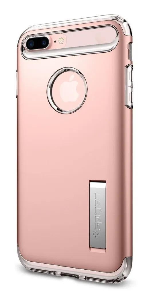 Capa Slim Armor Rose Compatível com iPhone 7/8 Plus