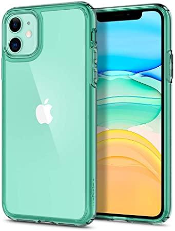 Capa Ultra Hybrid Crystal Green Compatível com iPhone 11