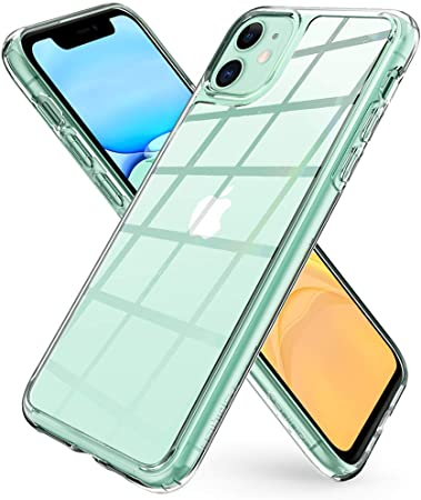 Capa Ultra Hybrid Crystal Green Compatível com iPhone 11