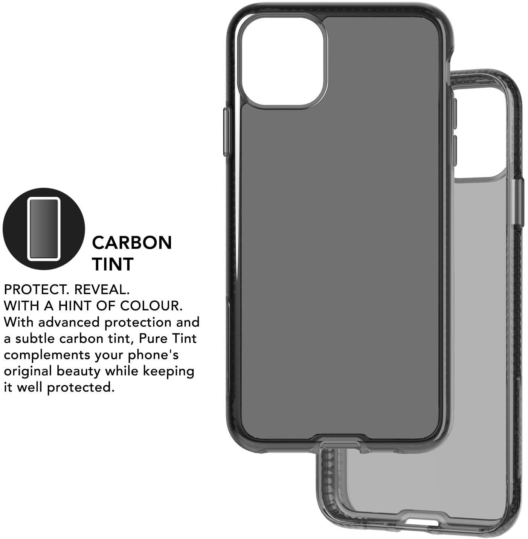 Capa Tech21 Pure Tint iPhone 11 Pro - Carbon