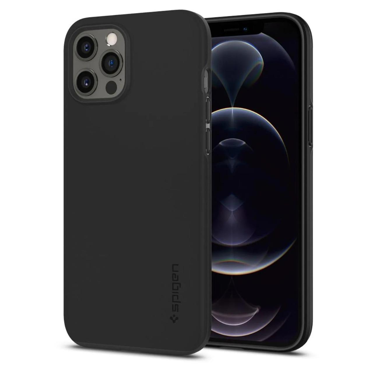 Capa Thin Fit Black Compatível com iPhone 12 Pro Max