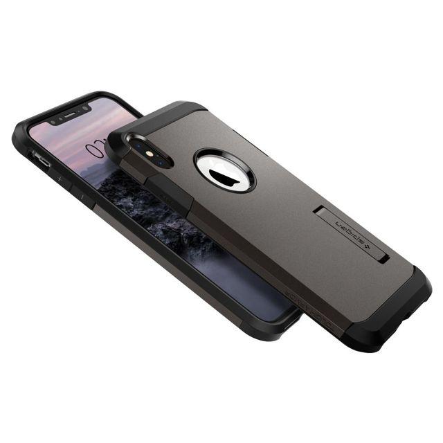 Capa Tough Armor Gunmetal Compatível com iPhone XR