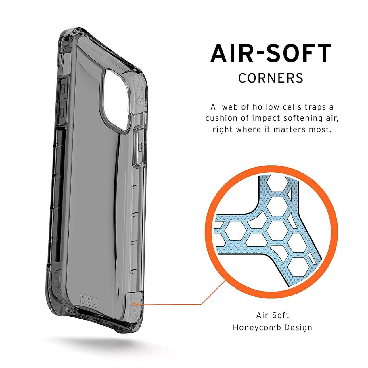 Capa Urban Armor Gear Ash Compatível com iPhone 11 Pro