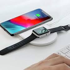 Carregador Qi sem fio 2 em 1 Baseus Smart (iPhone + Apple Watch)