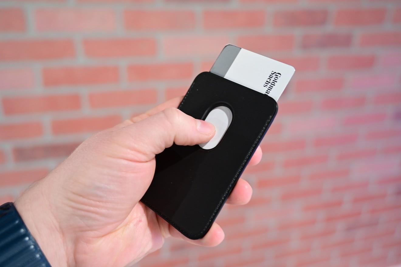 Card Case Compatível com iPhone - Azul Escuro