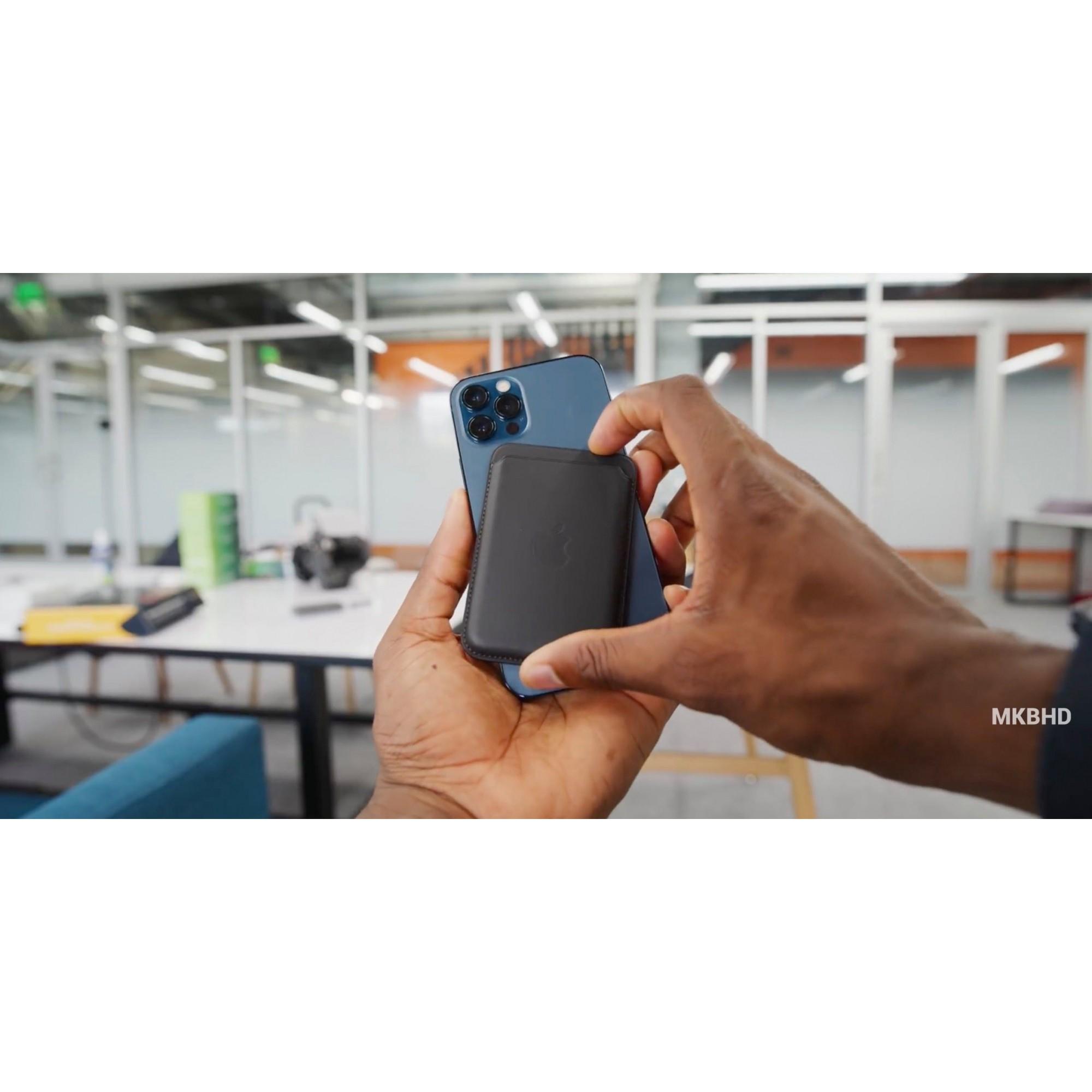 Card Case Compatível com iPhone - Preto