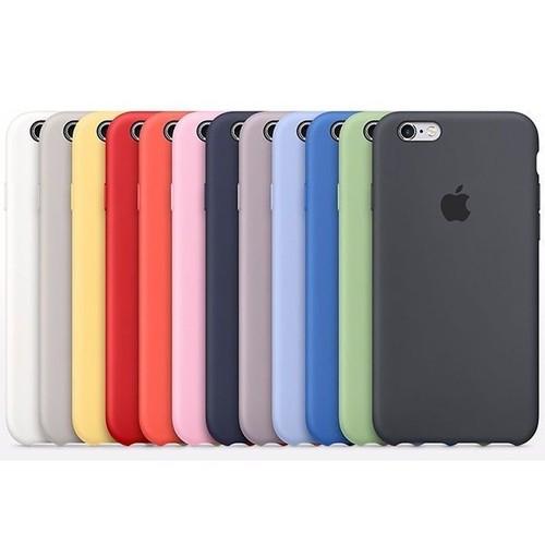 Case Colorida de Silicone Compatível com iPhone 6/6s