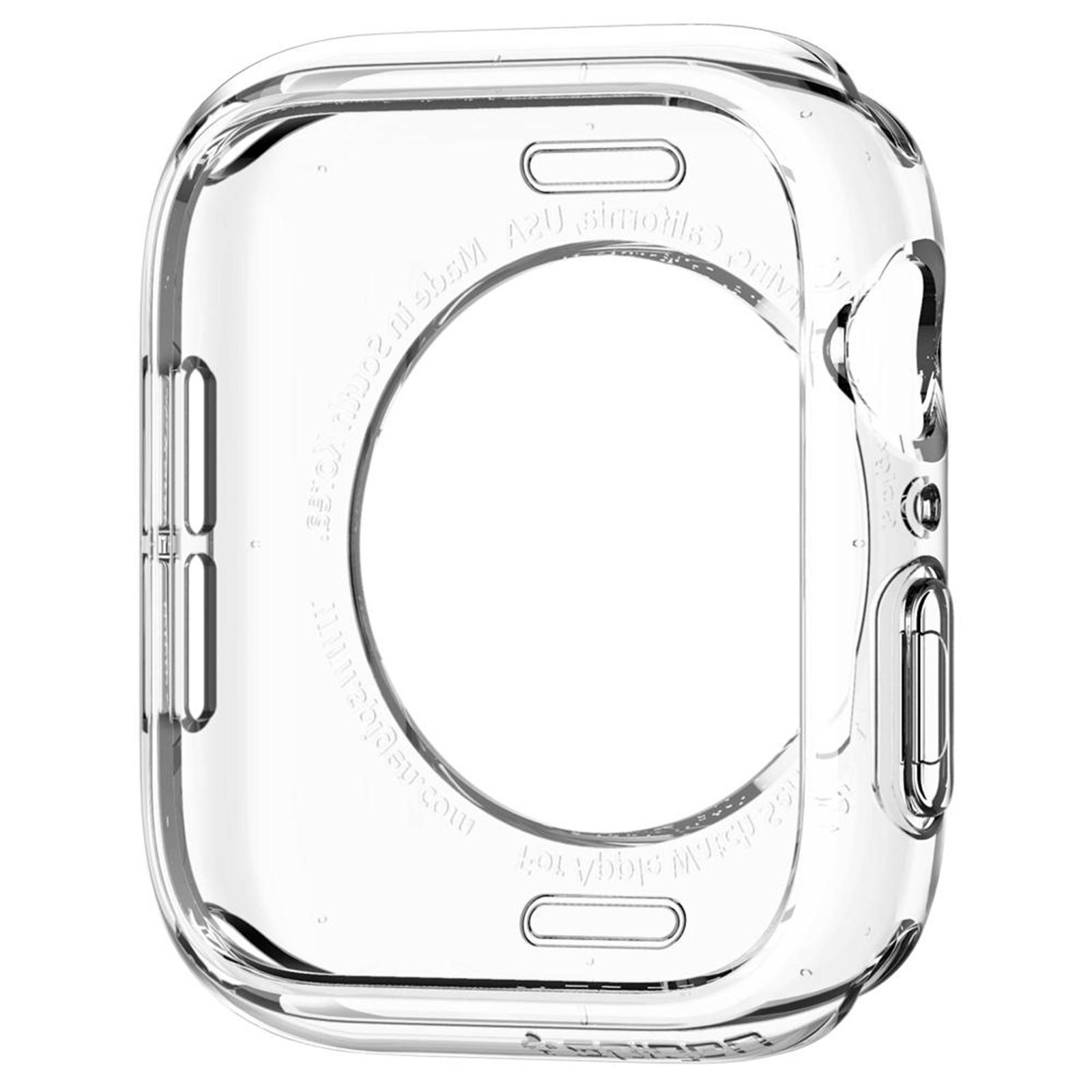 Case Liquid Crystal Clear Compatível com Apple Watch 44mm