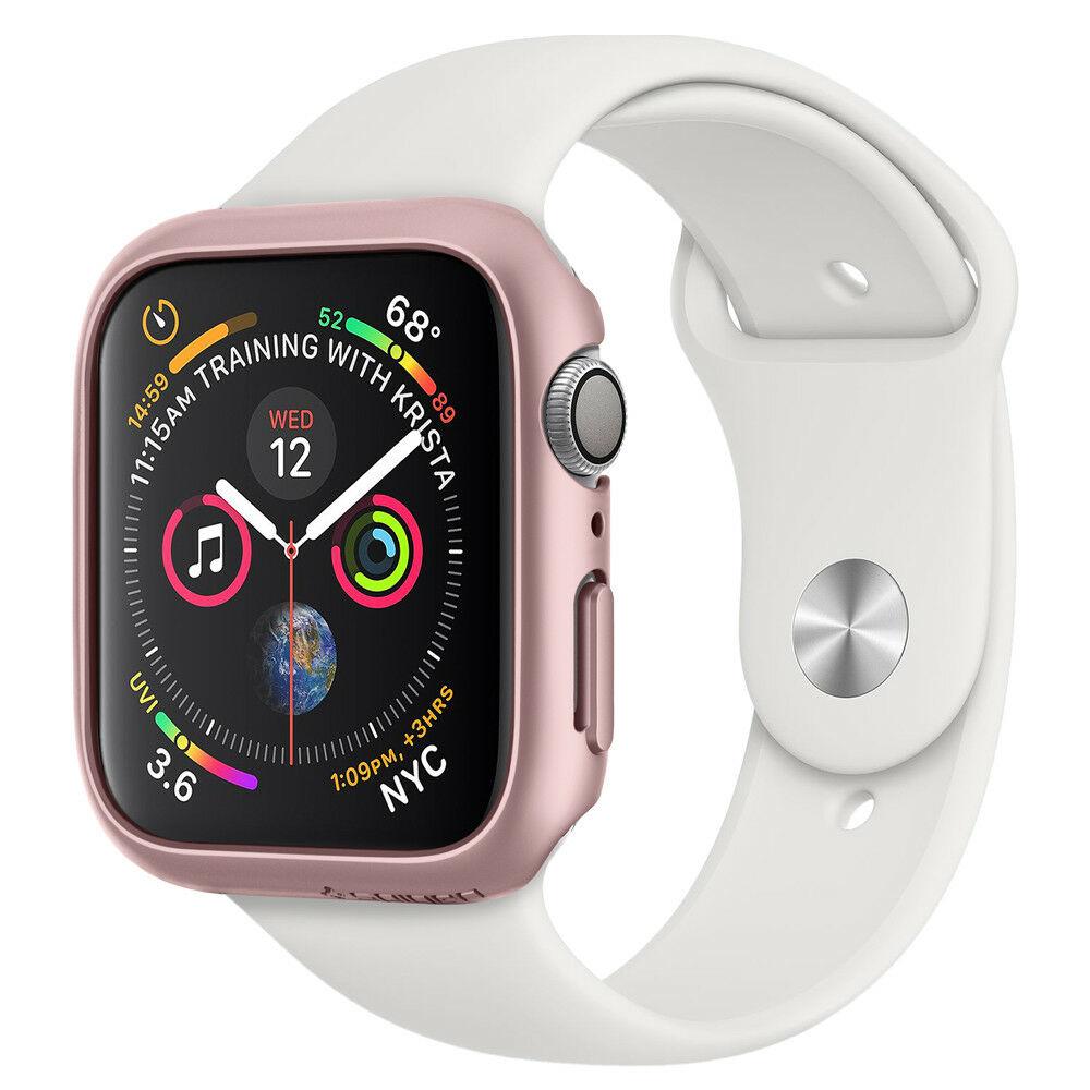 Case Spigen Para Apple Watch SE/6/5/4 44mm Thin Fit Rose Gold