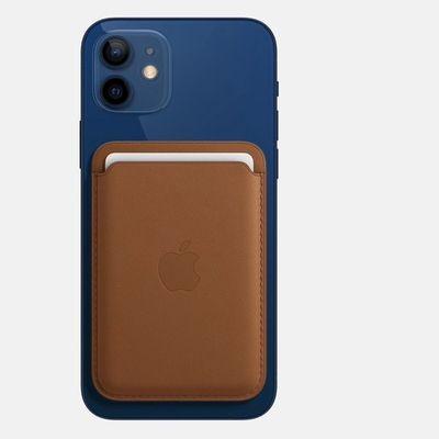 Card Case Compatível com iPhone - Marrom