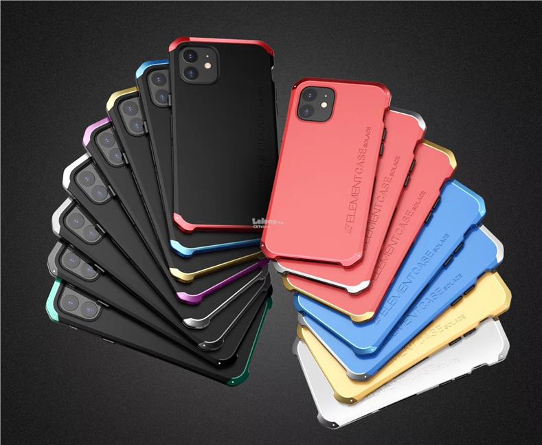 Element Case Solace Metal Case for iPhone 11 Pro Max