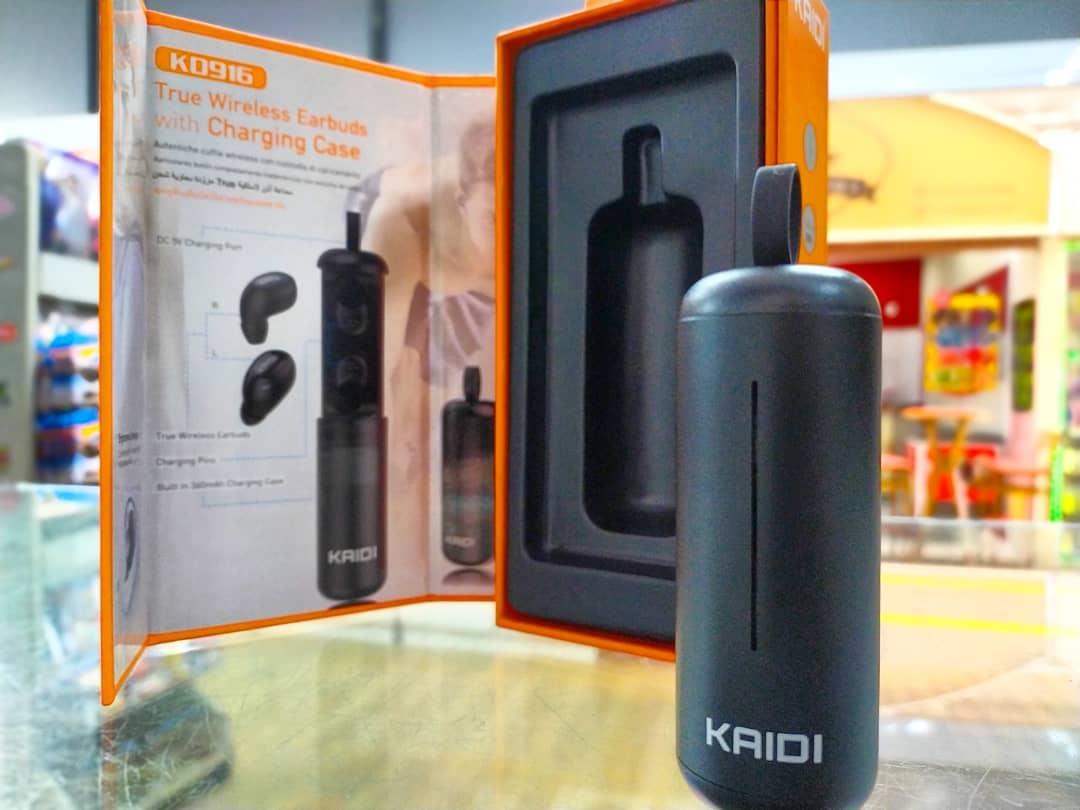 Fone De Ouvido Bluetooth Com Estojo Para Recarga Kaidi Kd916