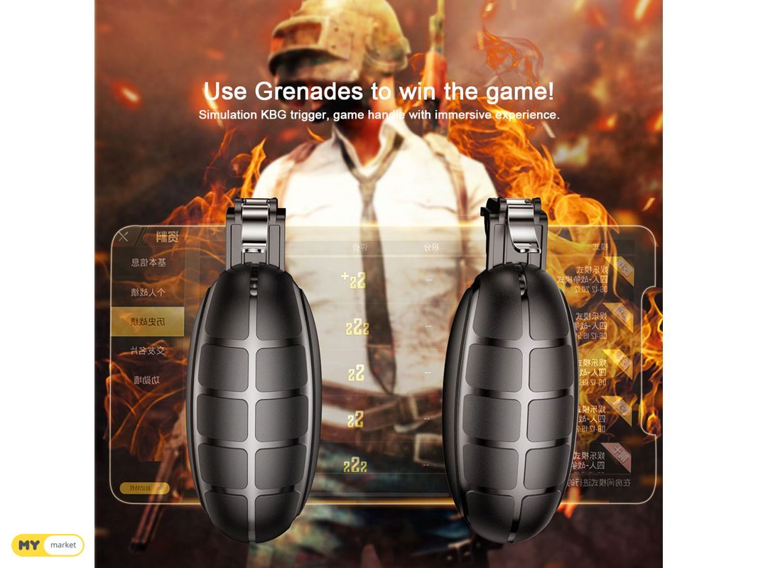 Grenade Handle For Games